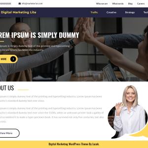 Digital Marketing Wordpress Theme