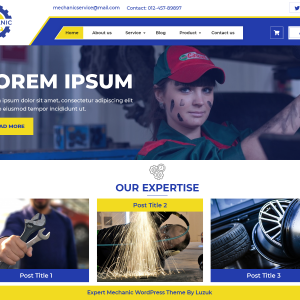 Mechanic Wordpress Theme