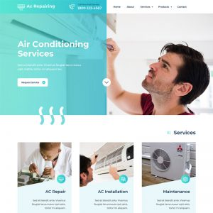 AC Repair Wordpress Theme