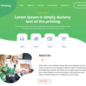 Printing Wordpress Theme