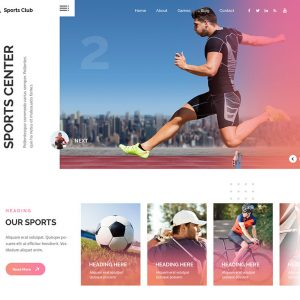 Multi Sports Wordpress Theme