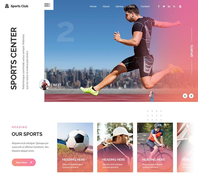 Multi Sports Wordpress Theme