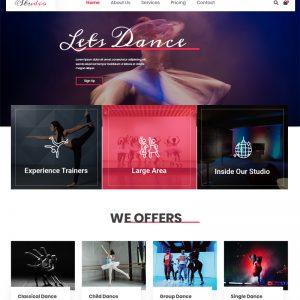 Dance Academy Wordpress Theme